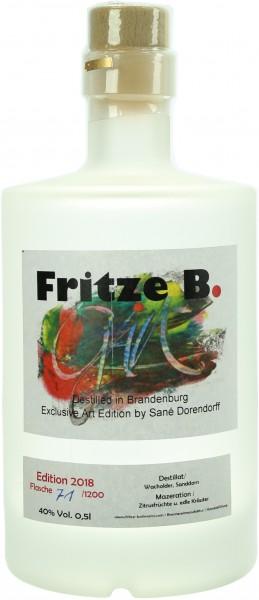 Fritze B. Gin Sanddorn Edition 45.0% 0,5l