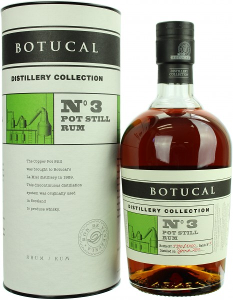 Ron Botucal Distillery Collection Batch No.3 Pot Still Rum 47.0% 0,7l