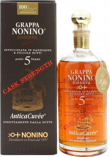 Nonino Riserva Antica Cuvee 5 Jahre Cask Strength Grappa