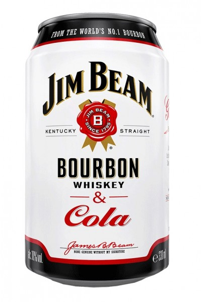Jim Beam Kentucky Straight Bourbon & Cola Dose