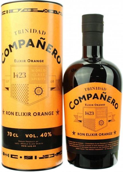 Companero Ron Elixir Orange 40.0% 0,7l