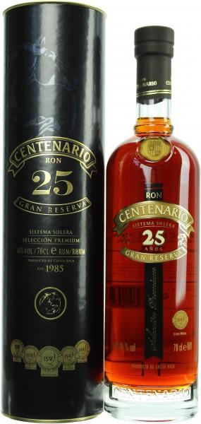 Ron Centenario Gran Reserva 25 Jahre 40.0% 0,7l