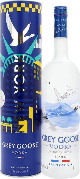 Grey Goose Vodka New York Limited Edition
