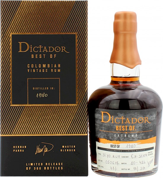 Dictador Best of 1980 Rum Germany Edition