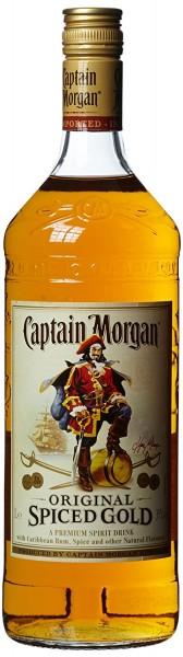 Captain Morgan Spiced Gold Rum 35.0% 1 Liter