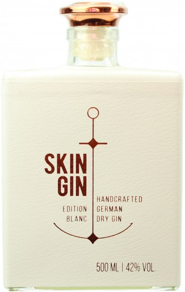 Skin Gin German Dry Gin Edition Blanc 42.0% 0,5l
