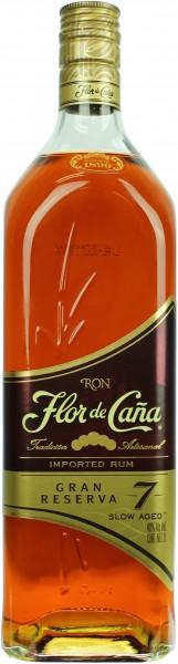 Flor de Cana 7 Jahre Grand Reserve Rum 40.0% 1 Liter