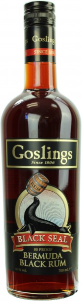 Gosling's Black Seal Dark Rum 40.0% 0,7l