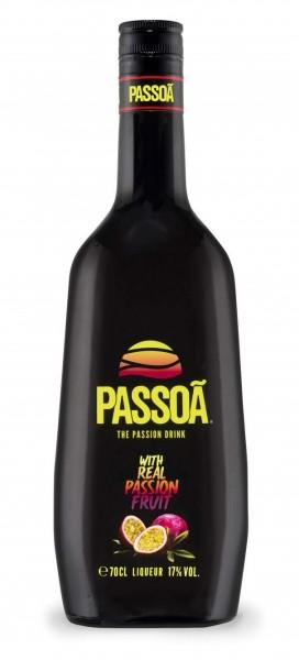 Passoa Likör mit Passionsfruchtsaft