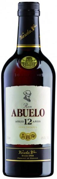 Abuelo 12 Jahre Rum 40% vol. 0,7l