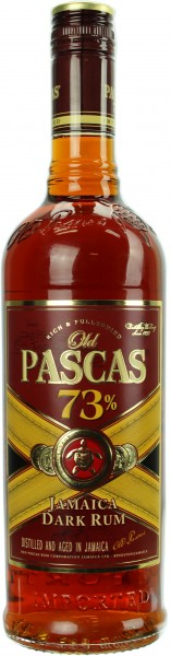 Old Pascas Jamaica Overproofed Rum 73.0% 0,7l