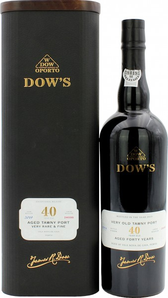 Dow's Very Old Tawny Port 40 Jahre 1899/2019