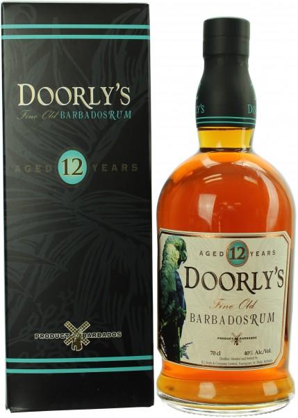 Doorly's 12 Jahre Rum 40.0% 0,7l