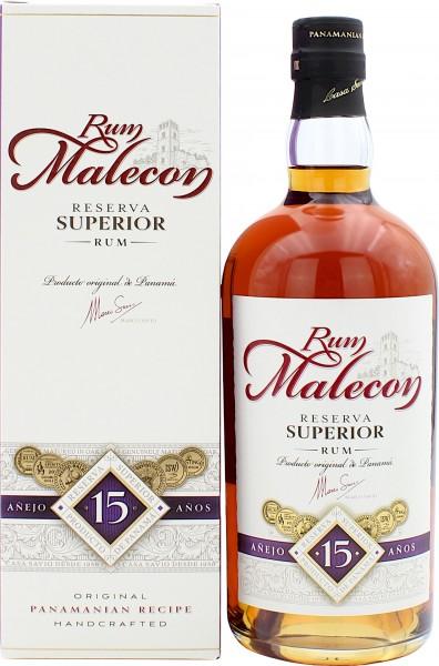 Malecon Reserva Superior Rum 15 Jahre