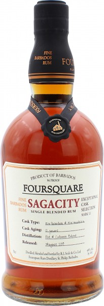 Foursquare Sagacity Rum 12 Jahre