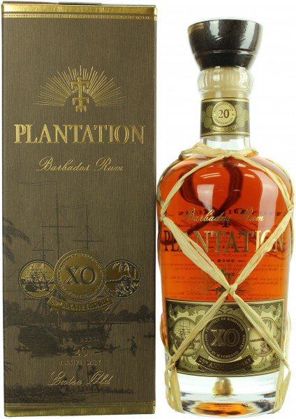 Plantation Barbados X.O. Rum 20th Anniversary 40%  0,7l