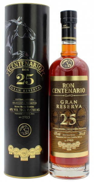 Ron Centenario Gran Reserva 25 Jahre