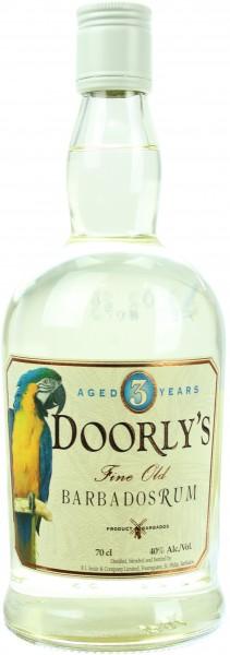 Doorly's 3 Jahre White Rum 40.0% 0,7l