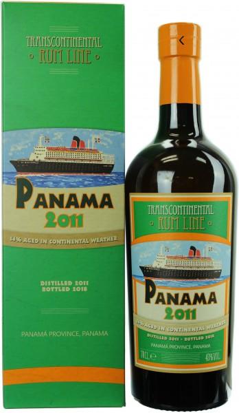 Panama 2011 Transcontinental Rum Line #24 43.0% 0,7l