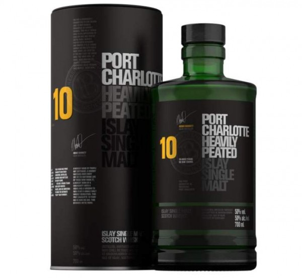 Port Charlotte Heavily Peated 10 Jahre 50.0% 0,7l