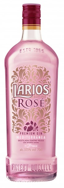 Larios Rosé Gin 37.5% 0,7l