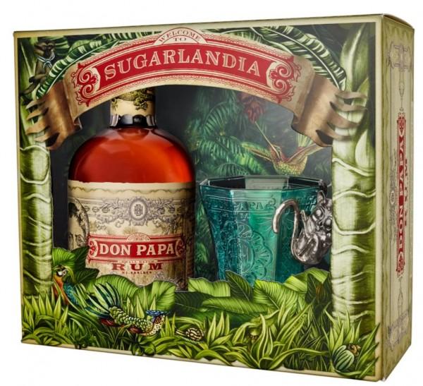 Don Papa Rum Geschenkset mit einem Glas