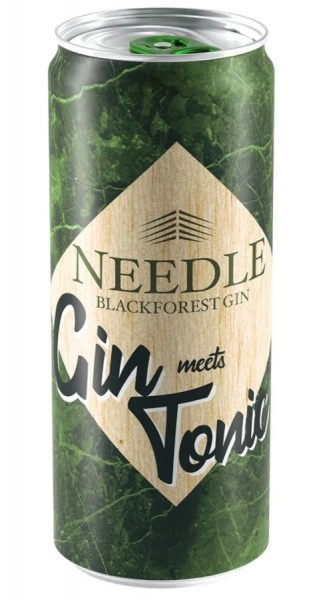 Needle Black Forest Dry Gin und Tonic Dose