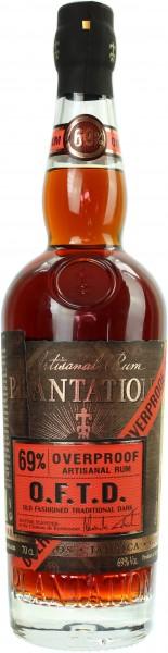 Plantation Rum Overproof O.F.T.D. 69.0% 0,7l