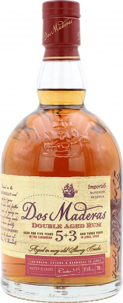 Dos Maderas Double Aged Rum 5+3