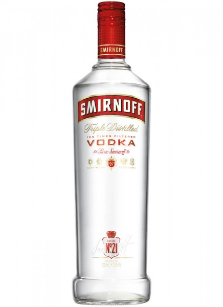 Smirnoff Red Label No.21 37.5% 1 Liter