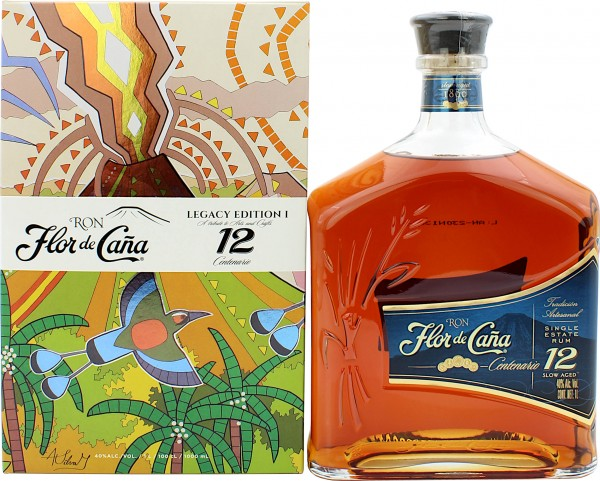 Flor de Cana 12 Jahre Centenario Rum Legacy Edition
