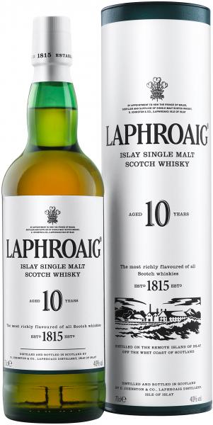 Laphroaig 10 Jahre 40.0% 0,7l