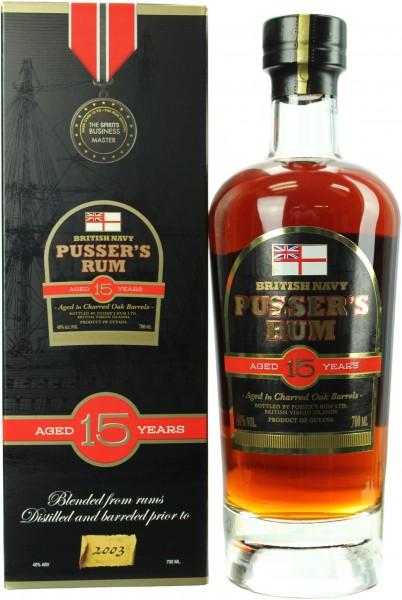 Pusser's 15 Jahre Navy Rum Nelson's Blood 40.0% 0,7l
