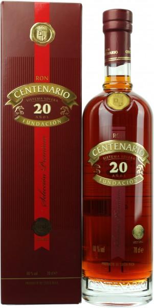 Ron Centenario Fundacion 20 Jahre 40.0% 0,7l