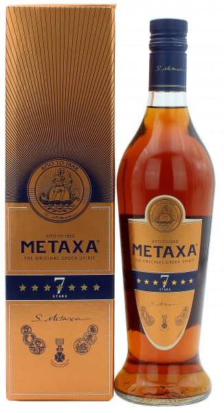 Metaxa 7 Sterne in Geschenkverpackung