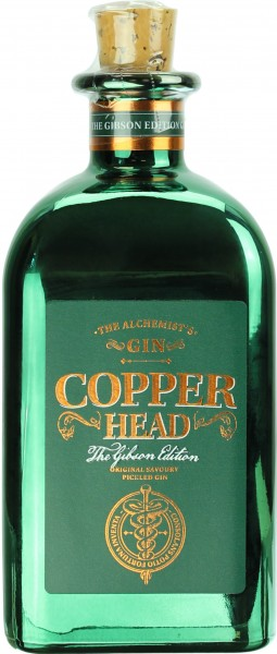 Copperhead Gin The Gibson Edition