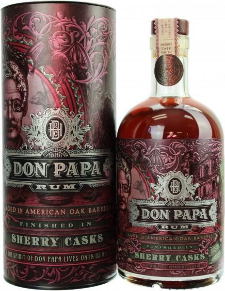 Don Papa Sherry Cask Rum 45.0% 0,7l
