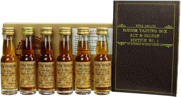 """Rum Tasting-Box """"Alt und selten"""" 41,25% 6x20ml"""