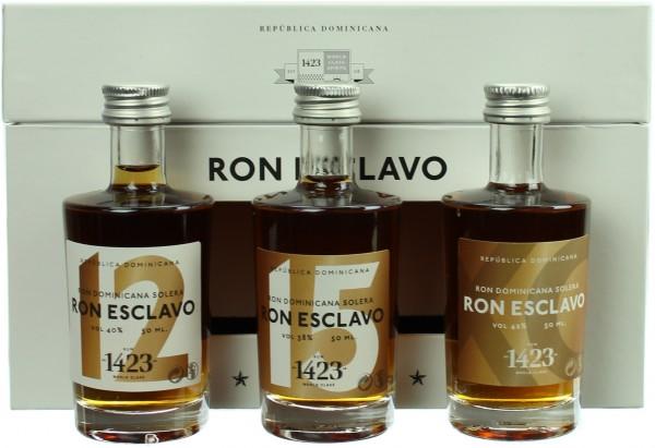 Ron Esclavo Tasting Set 40.0% 3x50ml