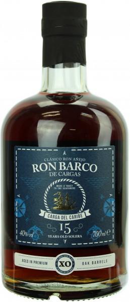 Ron Barco De Cargas 15 Jahre 40.0% 0,7l