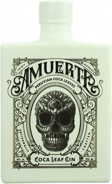 Amuerte Coca Leaf Gin White Edition 43.0% 0,7l