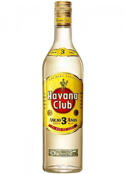 Havana Club Rum Anejo 3 40.0% 1 Liter