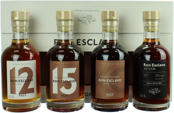 Ron Esclavo Premium Tasting Set 46.25% 4x200ml