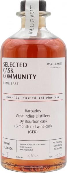 Wagemut Rum 10 Jahre Selected Cask Community Edition 2021