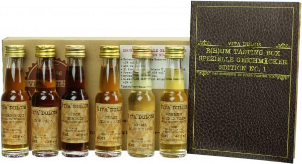 """Rum Tasting-Box """"Spezielle Geschmäcker"""""""