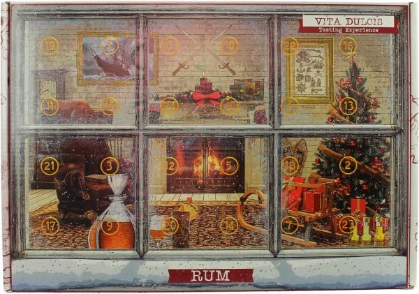 Rum Adventskalender 2018 42,23% 24x20ml