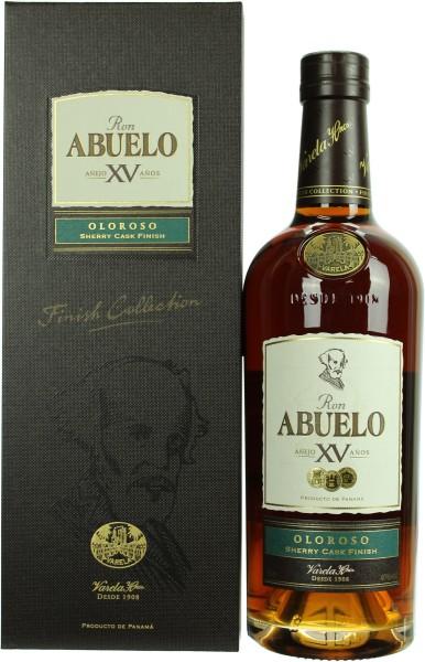 Abuelo 15 Jahre Oloroso Sherry Finish Rum 40.0% 0,7l