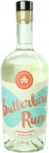 Butterbird Weissling Rum 46.0% 0,5l