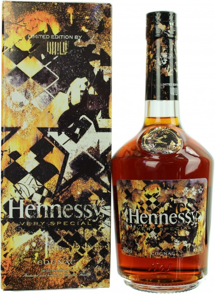 Hennessy VS Cognac Vhils Limited Edition 40.0% 0,7l