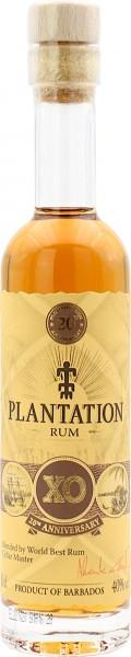 Plantation Barbados X.O. Rum 20th Anniversary 40% 100ml